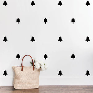 Pine Tree Wall Decals