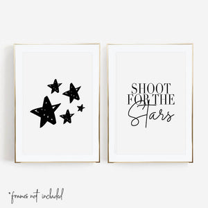Shoot for the Stars Print Set