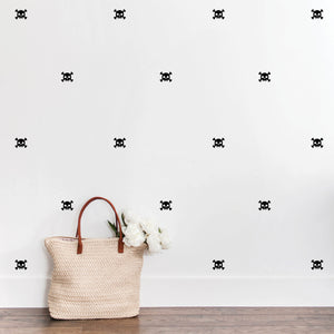 Skull and Crossbones Wall Decals