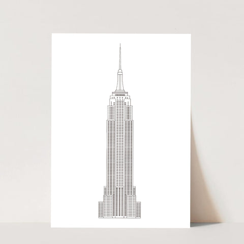 Empire State Building Print