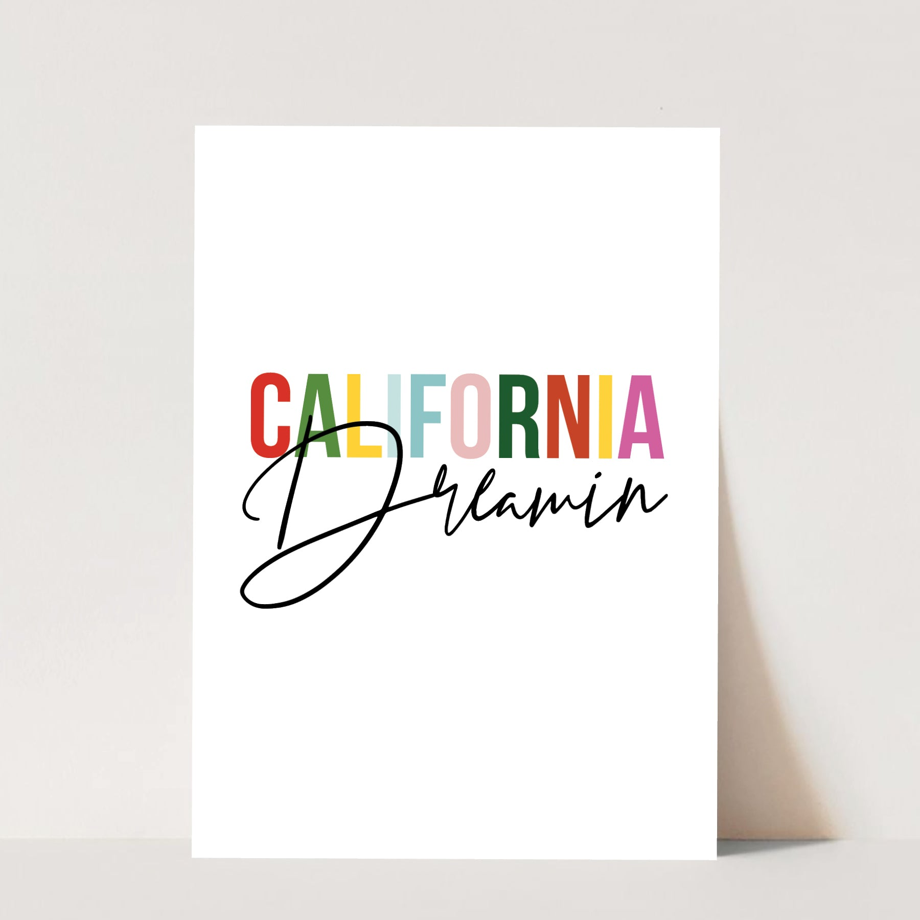 California Dreamin' Print