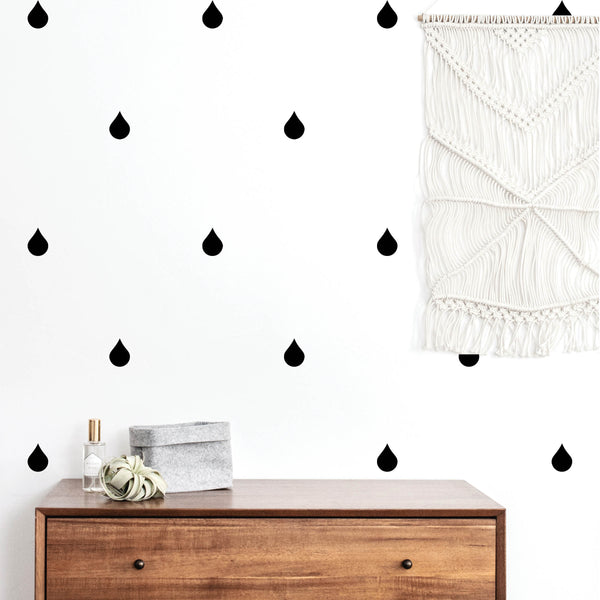 Rain Drop Wall Decals
