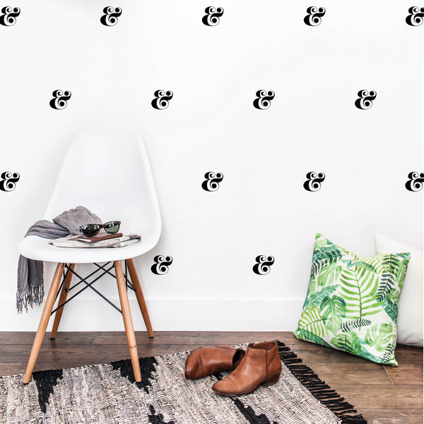 Ampersand Wall Decals - Typologie Paper Co