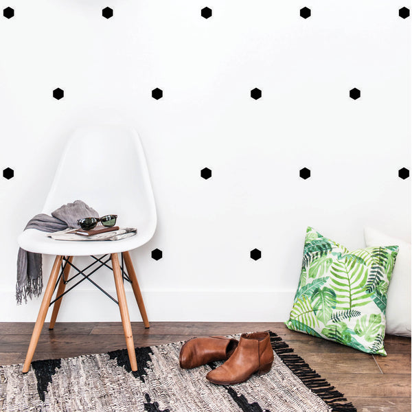Hexagon Wall Decals