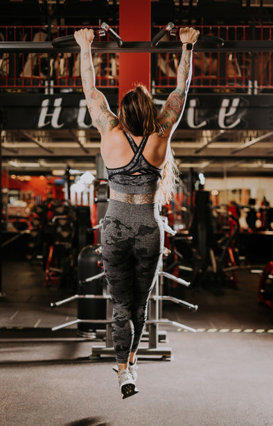 Black Camo Seamless Leggings