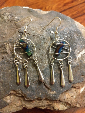 Galaxy Bound Drop Earrings