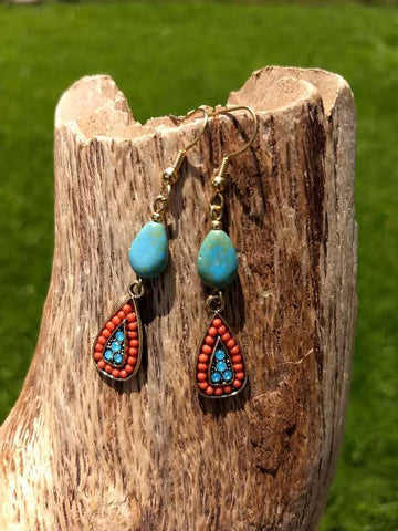 Santa Fe Drop Earrings