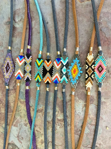 Assorted Handwoven Friendship Bracelets