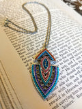 Painted Desert Embellished Arrowhead Necklace