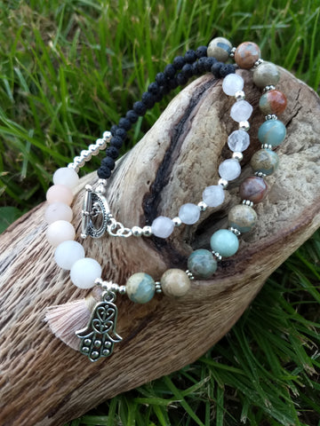 Tranquil Happiness Wrap Diffuser Bracelet