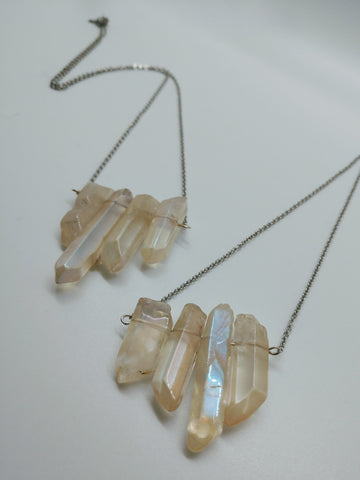 Snow Crystal Necklace