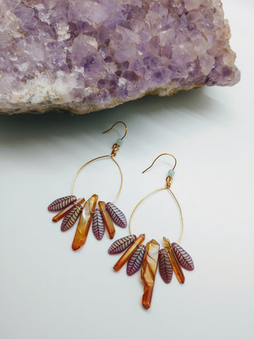 Fiery Phoenix Earrings