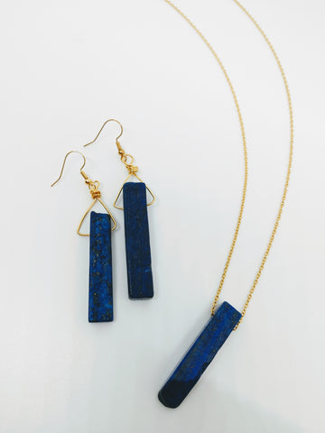 Midnight Magic Necklace and Earrings Set