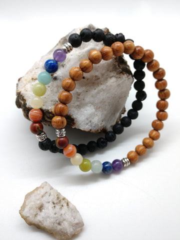 Chakra Alignment Stretch Bracelet