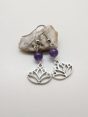 Sahasrara (Crown) Chakra Earrings