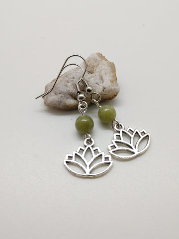 Anahata (Heart) Chakra Earrings