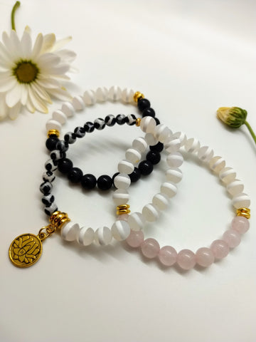 Lotus Love Stacked Set
