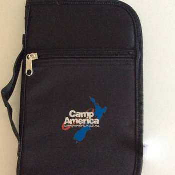 Camp America Travel Wallet