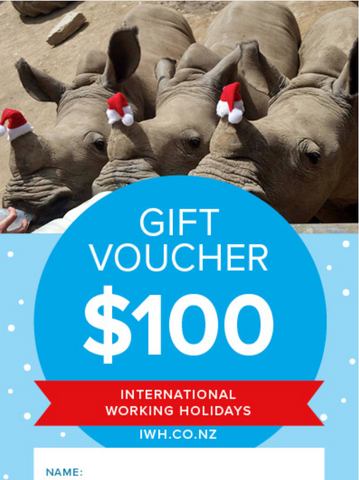IWH $100 Christmas Gift Voucher