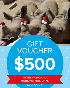 IWH $500 Christmas Gift Voucher