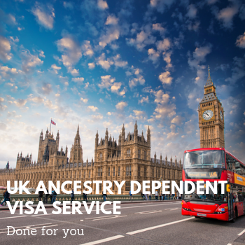 Ancestry Dependent Visa Done For You Service