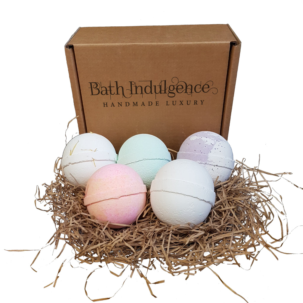 Medium Five Handmade Bath Bombs Subscription Box