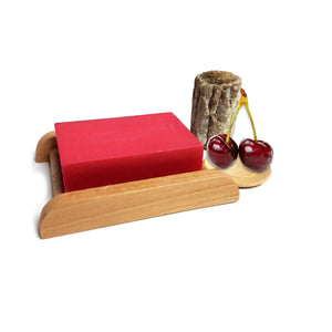 Cherry Shea Butter Handmade Soap Bar
