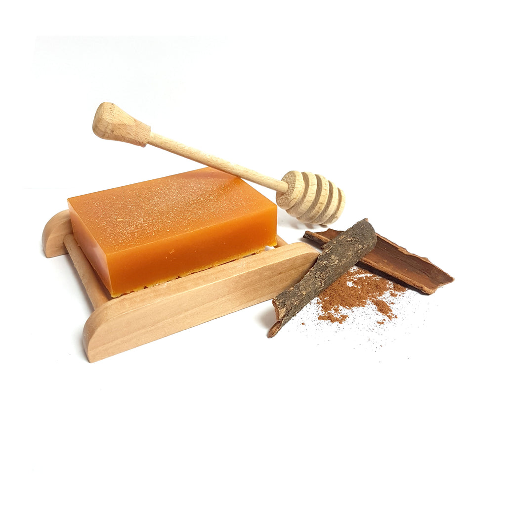 Honey, Vanilla & Cinnamon Shea Butter Handmade Soap Bar