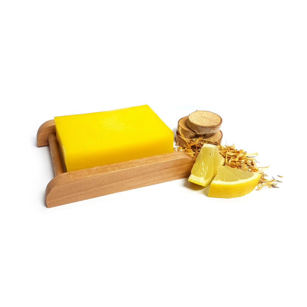 Lemon & Calendula Shea Butter Handmade Soap Bar