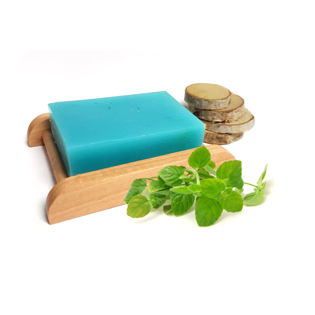 Peppermint Essential Oil Handmade Soap Bar