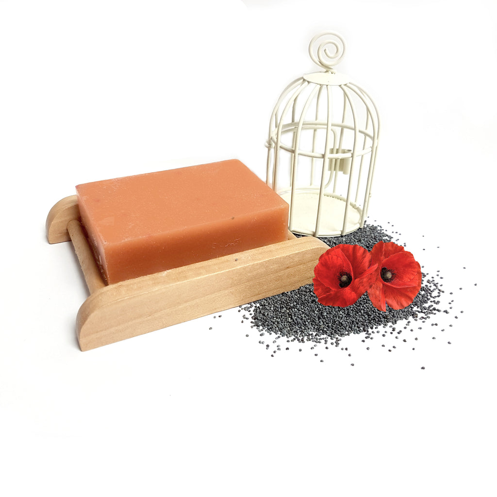 Poppy Fields Shea Butter Handmade Soap Bar