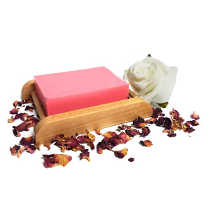 Rose Geranium Essential Oil Handmade Soap Bar