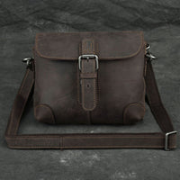 Fashion Real Leather Men Belt Waist Bag 2021 New Trendy Male Cross Body Sling Bags School Boy Messenger Natural Leather Bag
