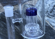 "13"" Thick Glass Rig double shower perc & dome perc 14mm Male Bowl"