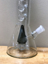 "New! 10"" Beaker Glass Rig Perc. 8 Ice catchers 2- 14mm Male Slide Bowls"