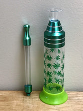 "5.5"" Best Mini Glass Bottle Bubbler w/Stand"