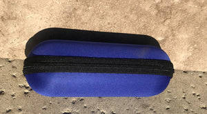 "6.5"" Zipper Padded Case - Blue"