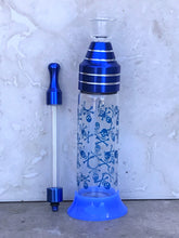 "Best Mini 5.5"" Glass Bottle Water Bubbler w/Stand"