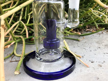 "Thick Glass 8"" Shower Best Water Bong 3 Herb Bowls Smoke Buddy Jr. Screens - Volo Smoke and Vape"