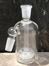 14mm Male 45 Degree Ash Catcher with Fritted Glass
