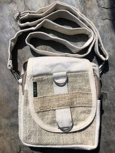 Double Zip Hemp Pack with Detachable Shoulder Strap - Volo Smoke and Vape