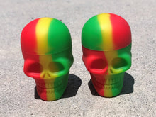 "Two 2"" New Silicone Skull Containers,  Non-Stick FDA Grade"