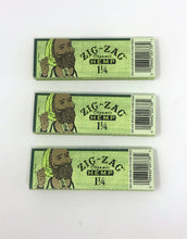 Zig Zag 1 1/4 Size Organic Hemp Rolling Papers - 3 Pack (150 Leaves)