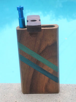 Dugout One Hitter With Push Down Aluminum Bat 4