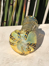 "New 3.5"" Handmade Quality Fumed Glass Hand Pipe w/ Zipper Padded Hard Case"