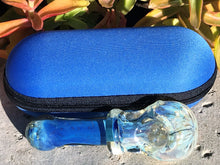 "4.5"" Glass Handmade Spoon Pipe Zipper Padded Hard Case Pouch Best - Volo Smoke and Vape"