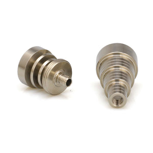 Universal Male & Female Fit 10mm 14mm 18mm Titanium Nail Domeless