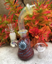 "Best Fumed Thick Glass 7"" Rig w/Implosion 2 - 18mm Male Slide Bowls"