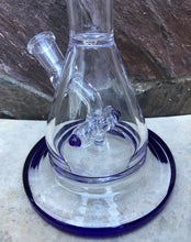 "8.5"" Beaker Thick Glass Rig Shower Perc 2 - 14mm Male Bowls"