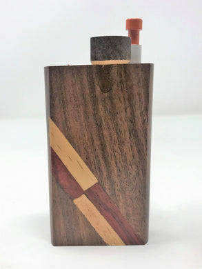 Quality Design Hardwood Dugout Swift Box +FREE 1-hitter Push Pipe Bat! - Volo Smoke and Vape